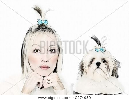 Owners And Dogs Look Alikes
