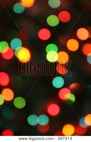 Desenfoque ligero festivo