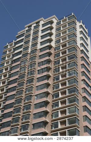 Flat Building Exterior
