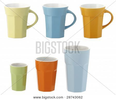 Ceramic Cups And Glasses