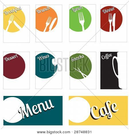 Bright Fun Menu Set