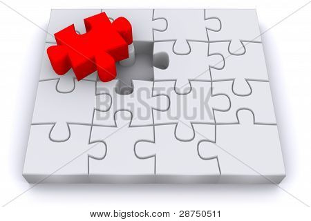 3d puzzle, business solution