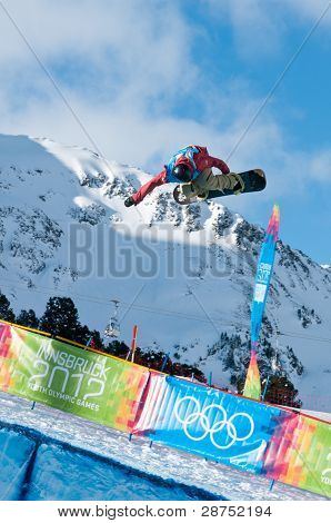 Ben Ferguson, Snowboard Halfpipe, Youth Olympic Games 2012