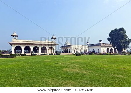 Diwan I Khas At The Red Fort in Delhi