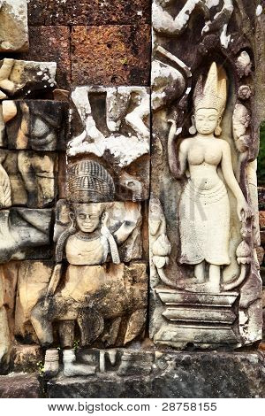 Khmer Stone Carving
