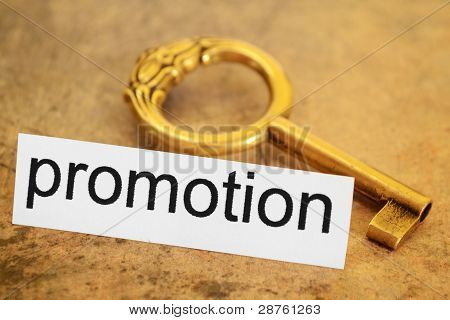Promotion And Key Concept