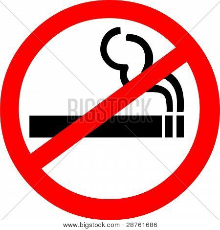 Prohibición de fumar