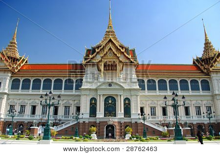 Maha Chakri Prasat Building In Grand Palace Complex