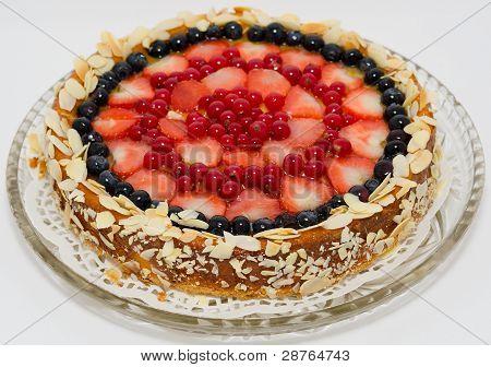 Tarta de queso de Berry
