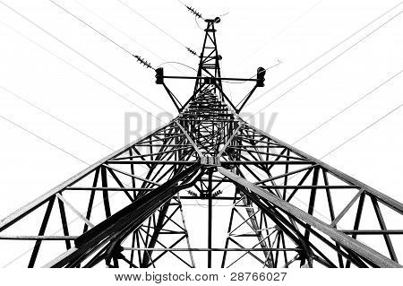Close-up Of  Pylon