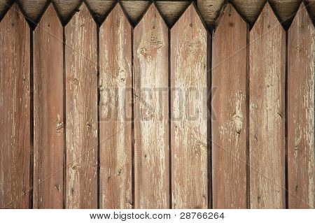 Fence Weathered