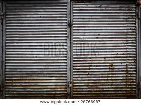 Grunge Garage Door