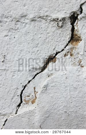 Crack At Cement