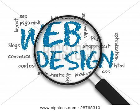 Magnifying Glass - Web Design