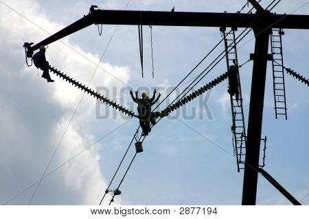 High Tension Power Workers: Powerworkers00001A