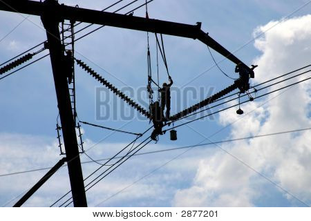 High Tension Power Workers: Powerworkers00011A