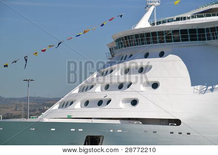 Cruise ship detail