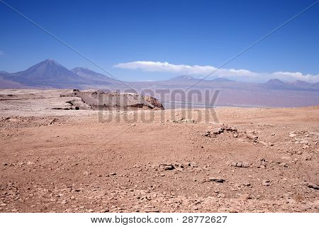 mountains in Atacama desert