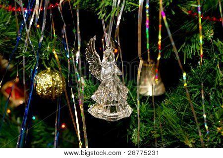 A fir-tree toy is an angel
