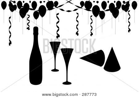 New Years Eve Celebration Party