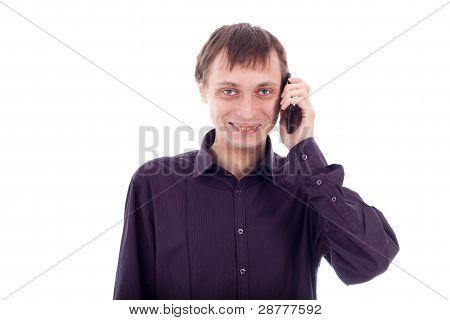 Weirdo Man On The Phone