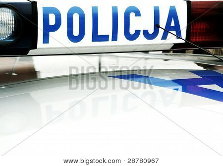 Polish Police Car