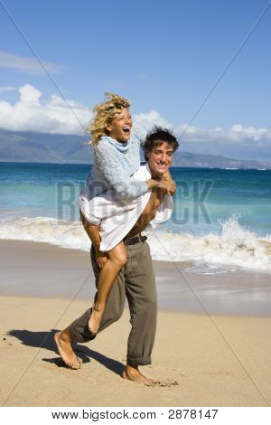 Couple Having Fun.