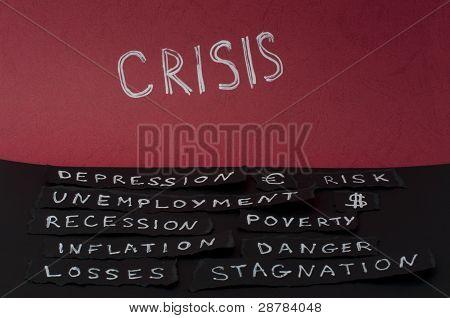 Concepto de crisis