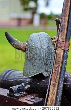 Knights Helmet Ancient Gun Knights