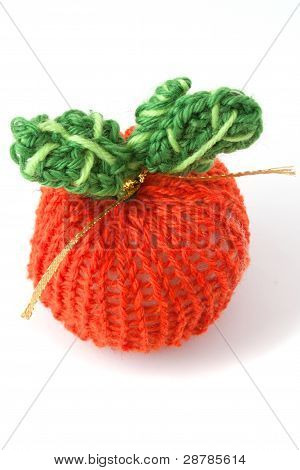 Knitted Apple