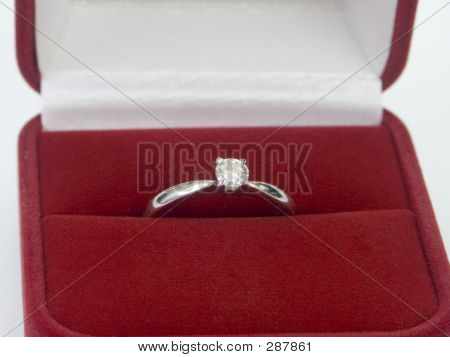 Diamond Ring Valentines Day Gift