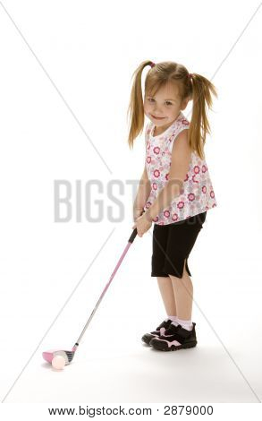 Little Golf Girl