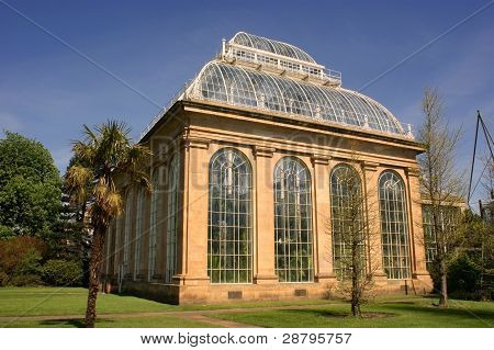 The Palm House, Royal Botanic Garden, Edinburgh.