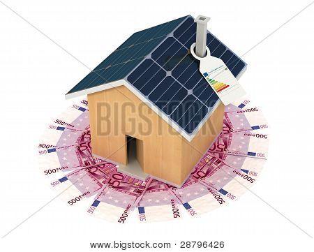 Ahorre con una casa ecológica