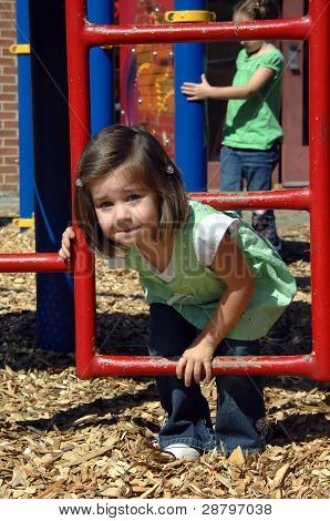 Challenging Playground Equipment