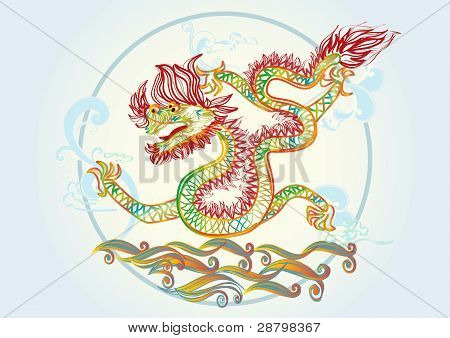 colorful dragon