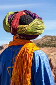 Berber In The Atlas Mountains In Morocco In Africa poster