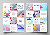 Business Templates For Brochure, Flyer, Report. Cover Design Template, Abstract Vector Layout In A4  poster