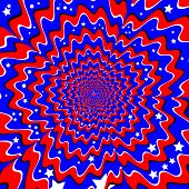 Stars and Stripes  (motion illusion)