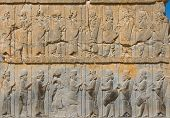 stock photo of xerxes  - highly detailed image of Ancient bas - JPG