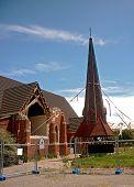 stock photo of purlin  - a church in Christchurch - JPG