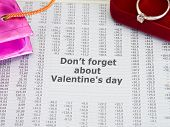 Diamond Ring Valentines Day Gift poster