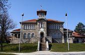 School House In Orasac, Serbia poster
