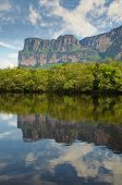 stock photo of canaima  - Beautiful Canaima National natural Park of Venezuela - JPG
