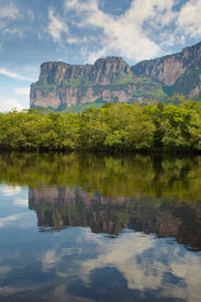 foto of canaima  - Beautiful Canaima National natural Park of Venezuela - JPG