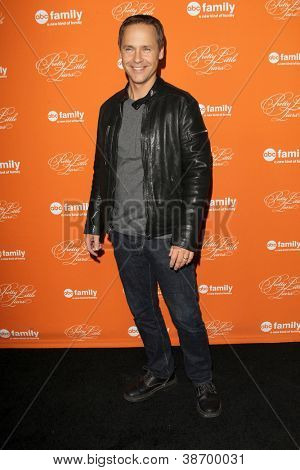 "LOS ANGELES - OCT 16:  Chad Lowe arrives at  ""Pretty Little Liars"" Special Halloween Episode Screening at Hollywood Forever Cemetery on October 16, 2012 in Los Angeles, CA"
