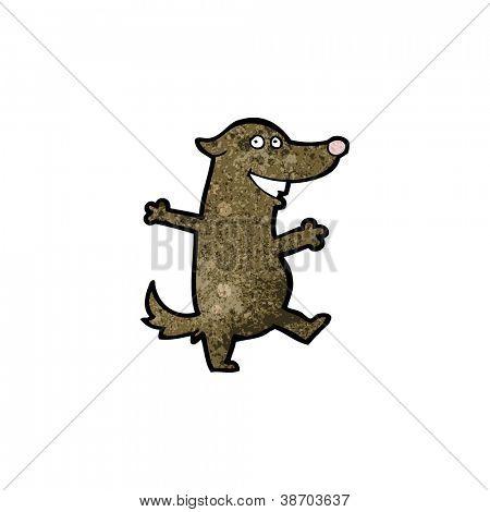 dancing dog cartoon