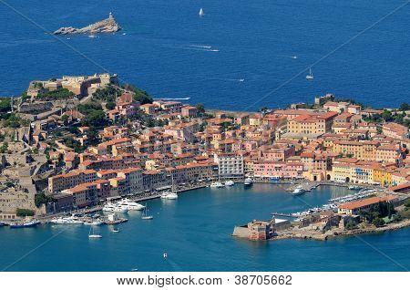 Isola d'Elba -Portoferraio harbour
