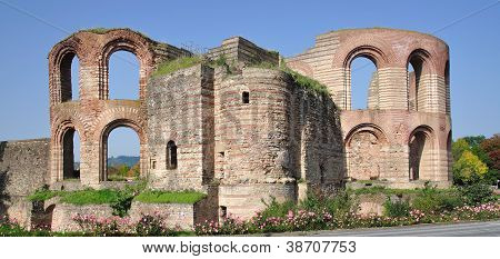 Roman Bath,Trier,Mosel River,Germany