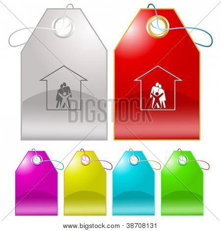 Family. Raster tags. Vector version is in my portfolio.